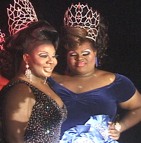 2008/2009 Newcomer Plus Winners - Nikki Sanchez & Milani Couture Royal