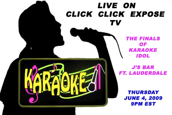 Karaoke Idol Live Tonight on Click Click Expose TV