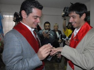 Argentina First Gay Marriage (Photo-Tierra del Fuego/Reuters)