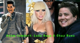 Lambert, Lady Gaga and Bono