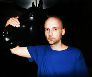 American DJ, singer songwriter & musician Moby