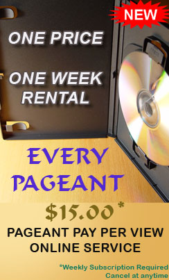 The all new Pageant Pay Per View Online System